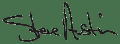 Steve Austin signature